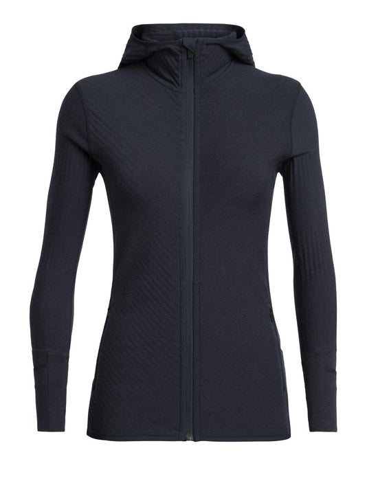 Icebreaker Descender Ladies LS Zip Hood 2020