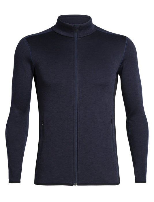 Icebreaker Elemental Mens LS Zip 2020