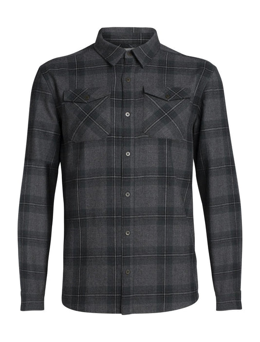 Icebreaker Lodge Mens LS Flannel Shirt 2020