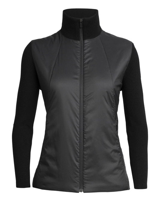 Icebreaker Lumista Ladies Hybrid Sweater Jacket 2020