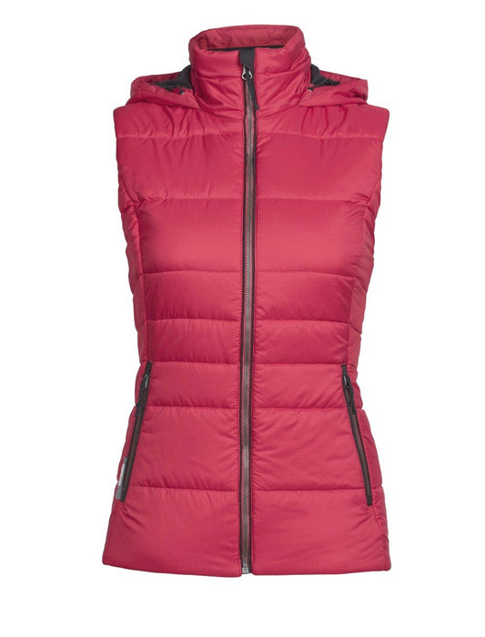 Icebreaker Stratus X Hooded Ladies Vest 2018
