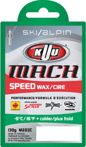 KUU Mach Cold Wax Green 130G  -9degC