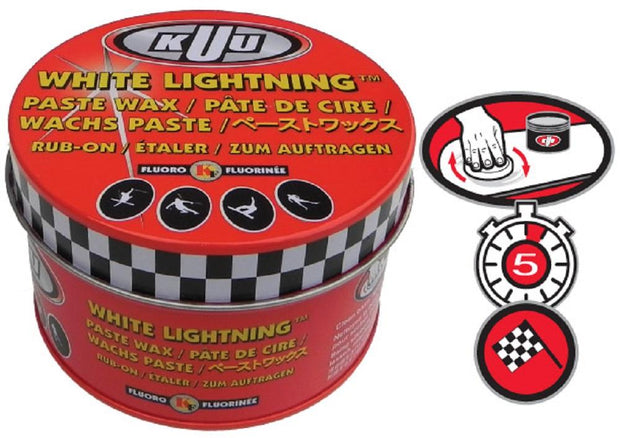 KUU White Lightning Fluoro Paste 80G