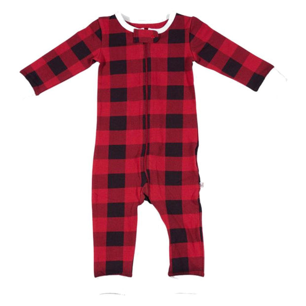 Lola & Taylor Country Moose Infant Romper 2020