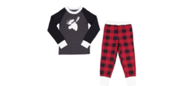 Lola & Taylor Country Moose Kids PJ Set 2020