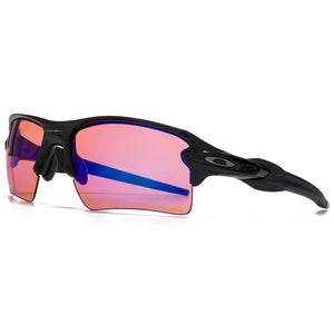 Oakley Flak 2.0 XL Sunglasses Polished Black with Prizm Trail