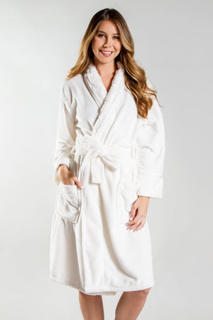 PJ Salvage Ladies Silky Robe 2018
