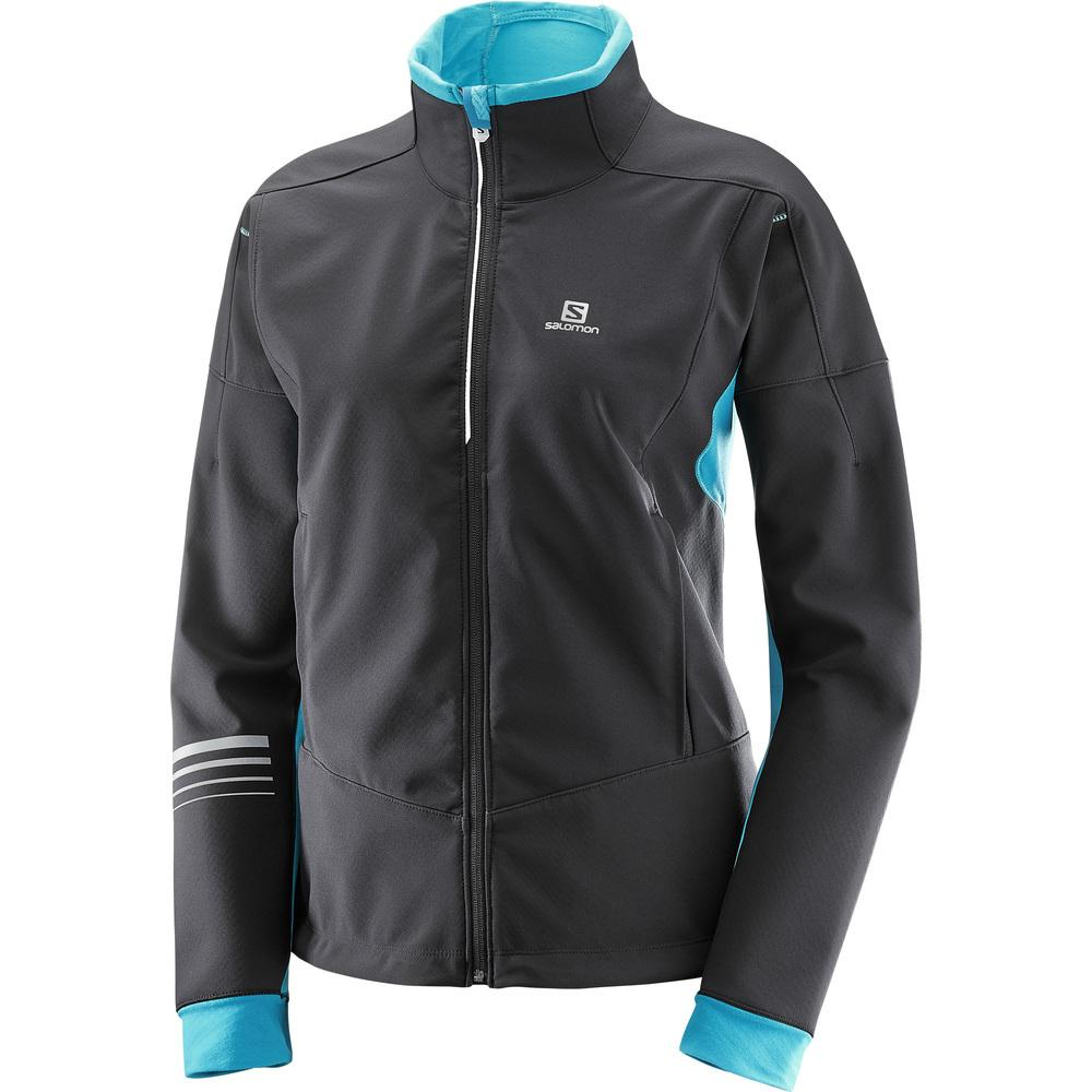 Salomon Nordic Lightning Warm SoftShell Ladies Jacket 2018
