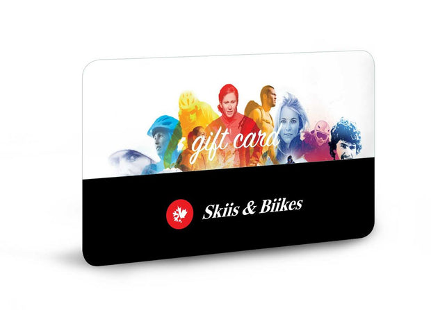 Skiis & Biikes Gift Card