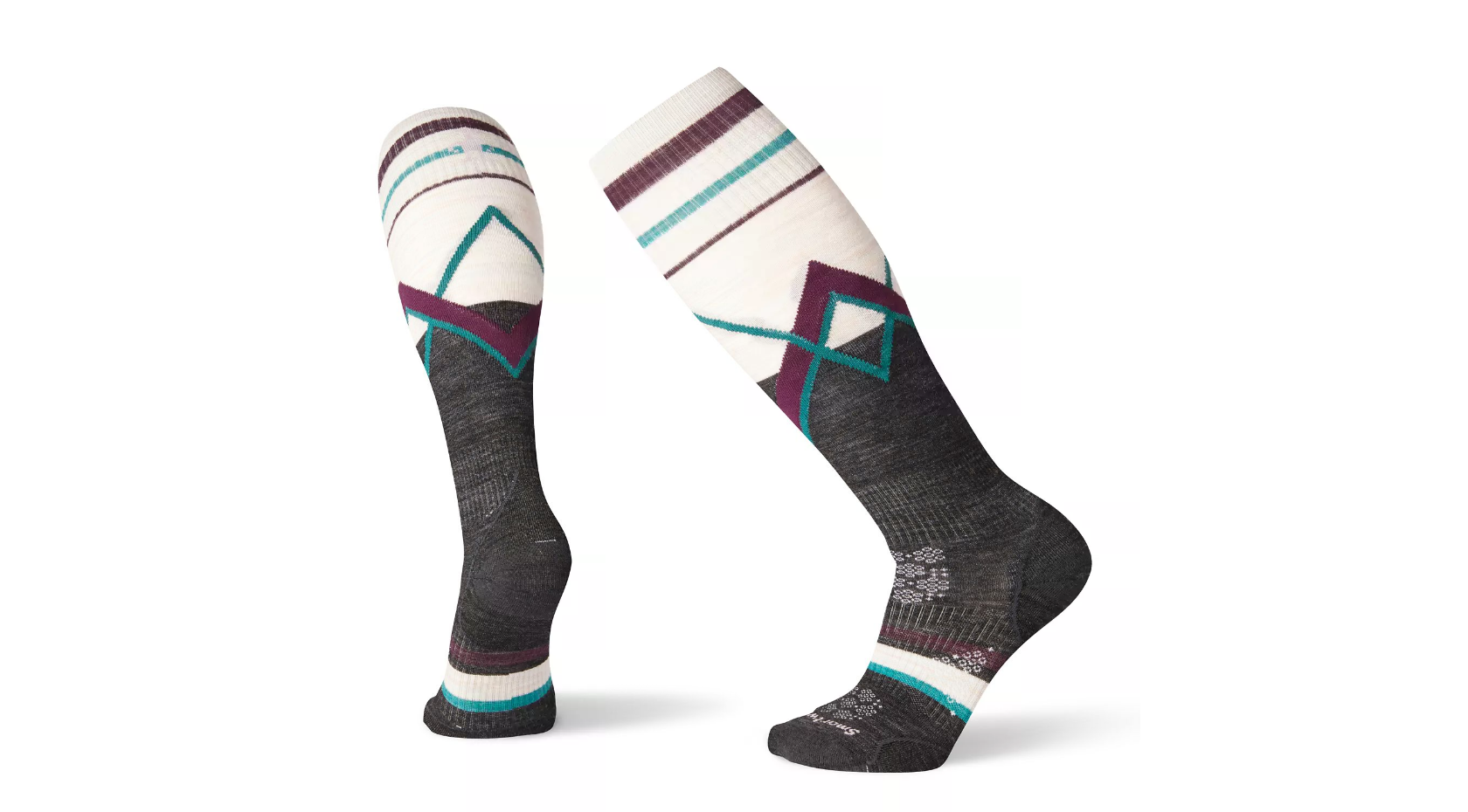 Smartwool PhD Ski Ultra Light Pattern Ladies Sock
