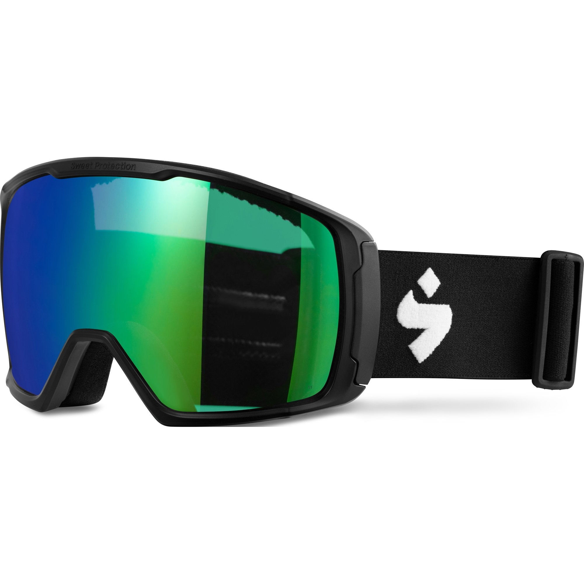 Sweet Protection Interstellar Goggle 2020 Matte Black RIG Emerald