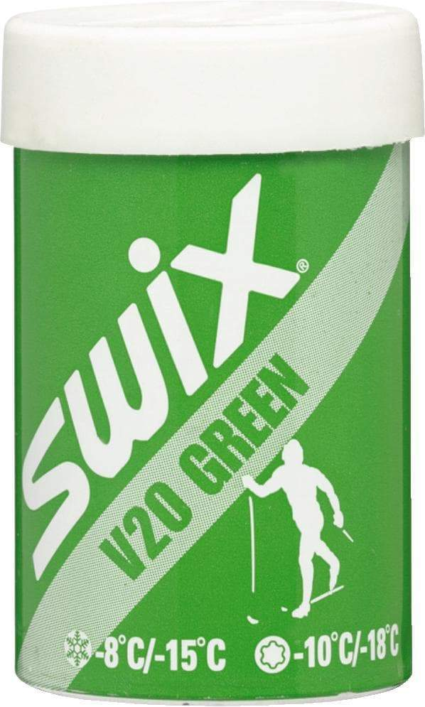 Swix V20 Green -8degC to -18degC Wax