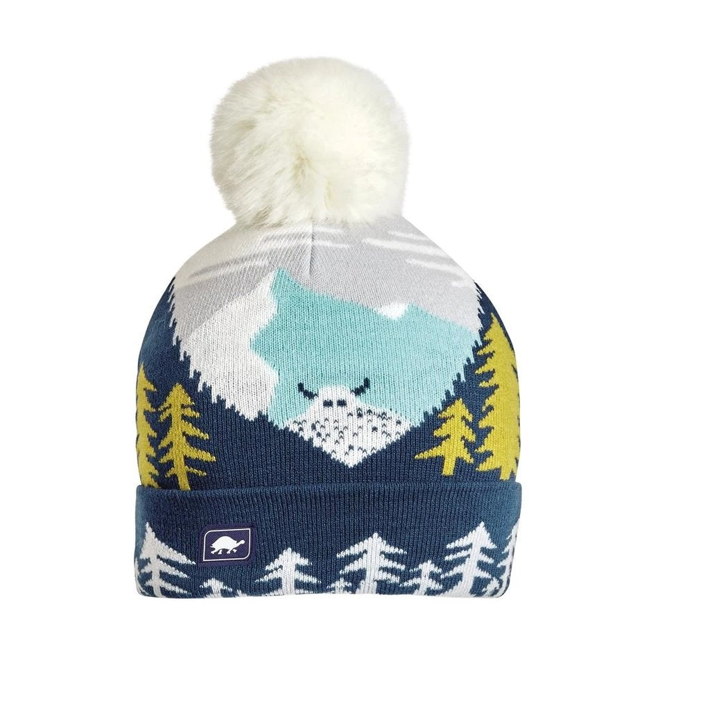 Turtle Fur Kids Peeking Yeti Junior Hat