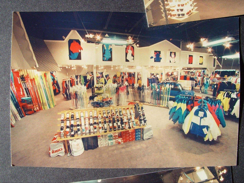 Vintage image of Mississauga sales floor