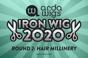 Iron Wig 2020 Round 2: Hair Millinery