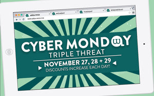 Cyber Monday: Triple Threat!