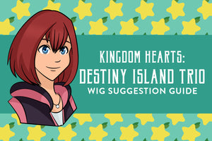 Kingdom Hearts: Destiny Island Trio Wig Suggestion Guide