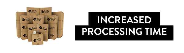 Increased Processing Time
