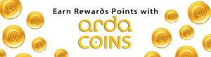 Earn Rewards Points with Arda Coins!