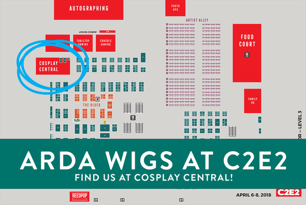 Come see us at C2E2 2018!