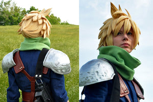 Cloud Strife Final Fantasy 7 Wig Tutorial by Malindachan