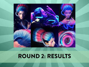 Iron Wig 2019 Round 2 Results