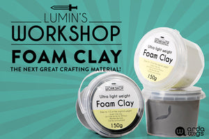 Lumin's Workshop Ultra Light Foam Clay is Now Available!