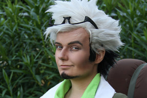 Pokémon Go Professor Willow Wig Styling by Hee-Hee