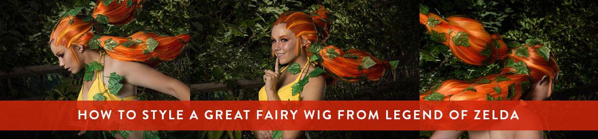 Great Fairy from Legend of Zelda wig tutorial by UP Cosplay