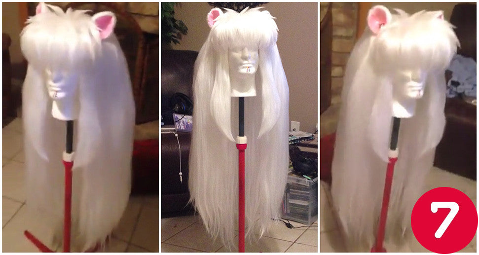 How to Style an Inuyasha Wig by Hee-Hee - Arda Wigs USA