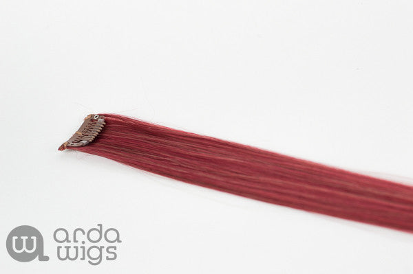 CLIP IN EXTENSION Crimson (FLAT)