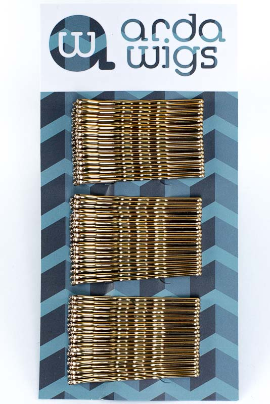 Bobby Pins - Brass 60ct