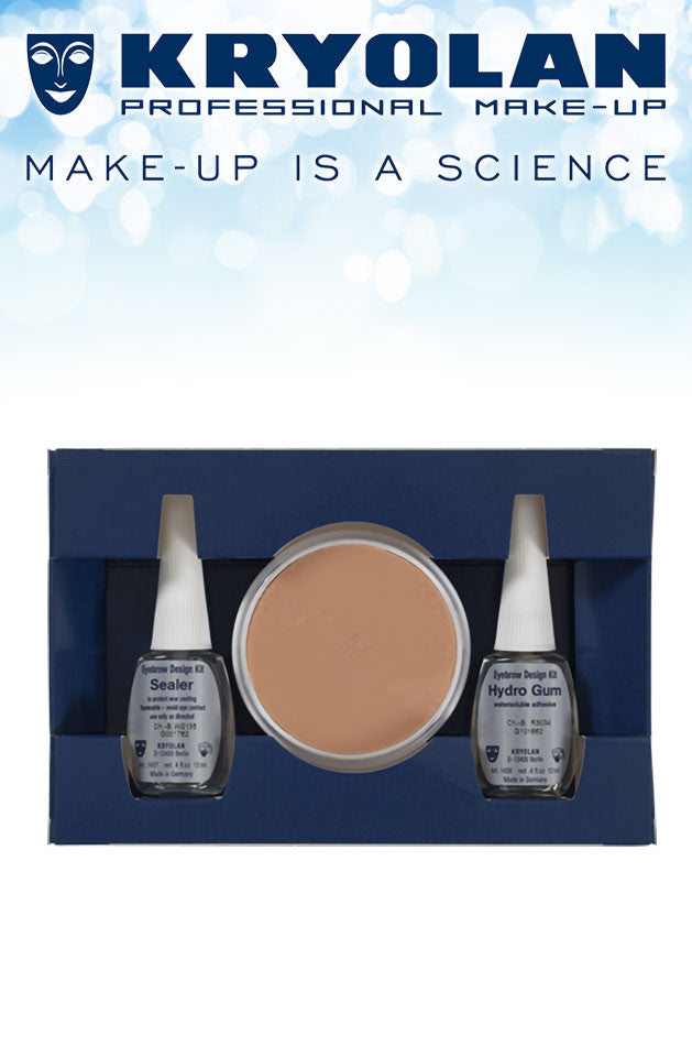 Kryolan Eyebrow Design Kit