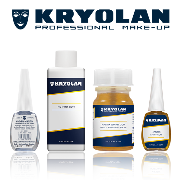 Kryolan Spirit Gum Adhesives