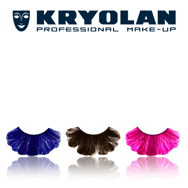 Kryolan Peacock Eyelashes