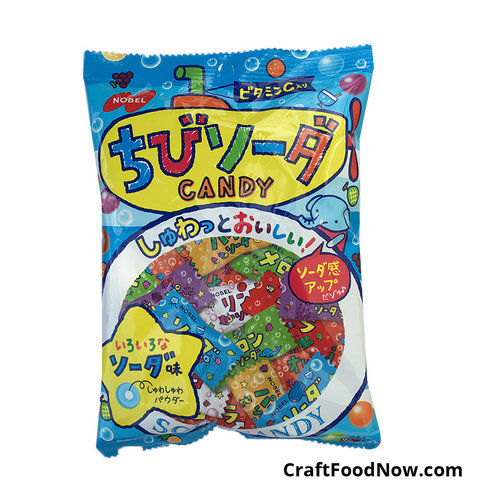 Nobel Japanese Soda Import Candy 3.1 oz