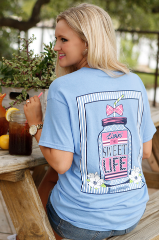Live Love Texas (Mint Green) - Short Sleeve