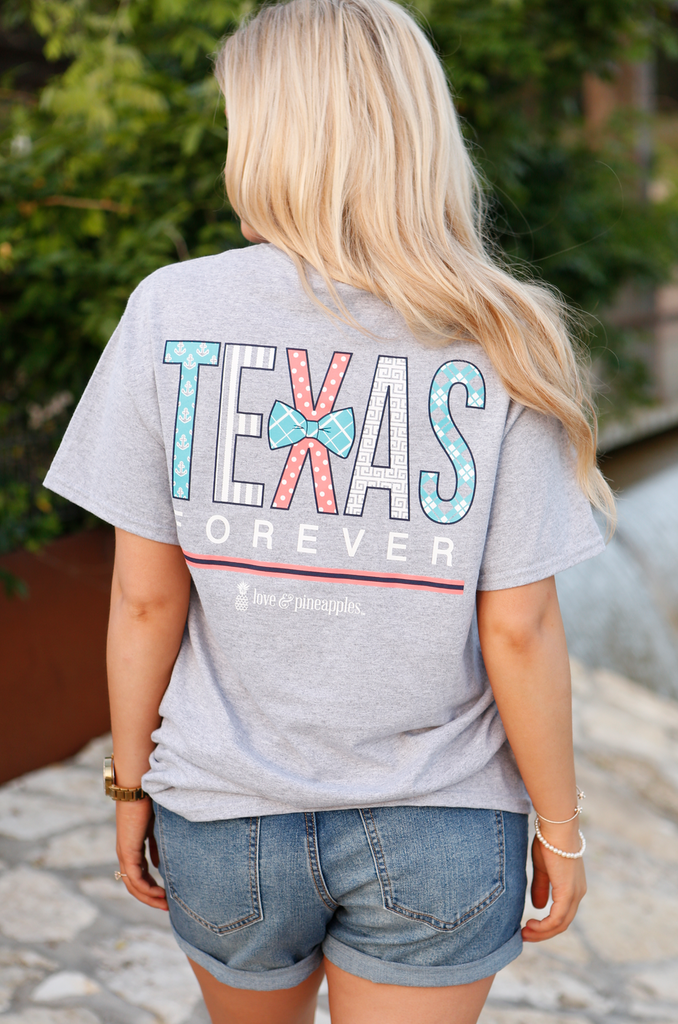 Texas Forever Grey - SS