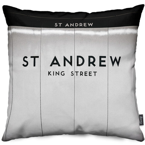 St. Andrew Station Throw Pillow