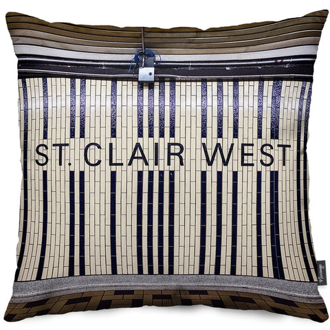 St. Clair West Throw Pillow