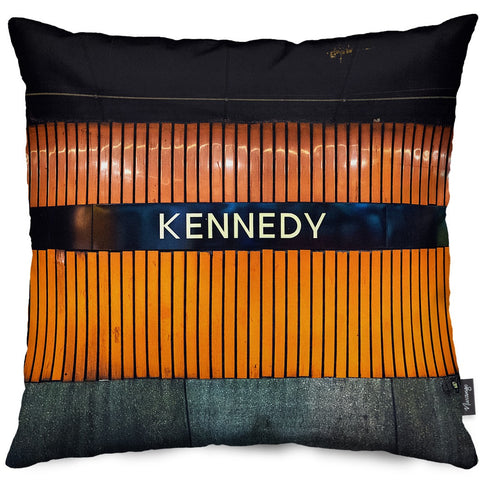Kennedy Station Throw Pillow