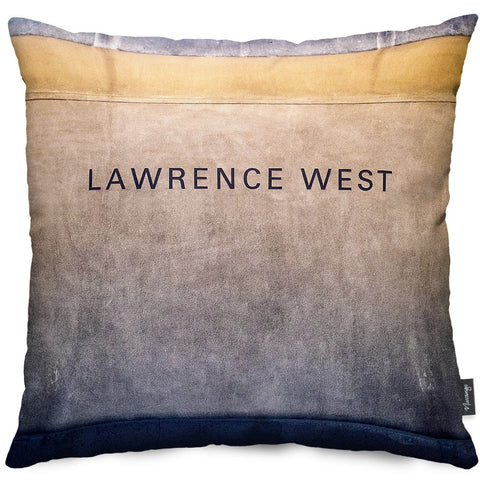 Lawrence West Station Throw Pillow