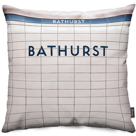 Bathurst Station Throw Pillow