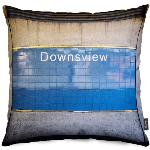 Downsview Station Throw Pillow
