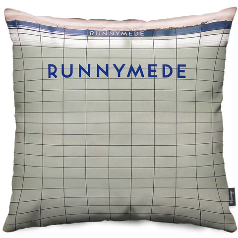 Runnymede Station Throw Pillow