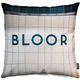 Bloor Station Throw Pillow
