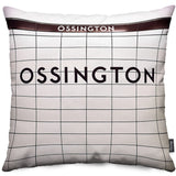 Ossington Station Throw Pillow