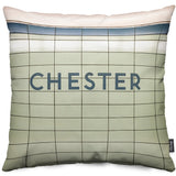 Chester Station Throw Pillow