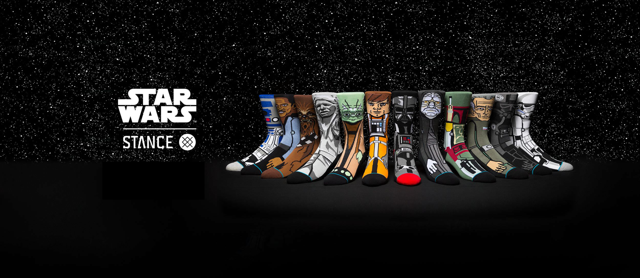 Star Wars has Arrived at Sock Life!