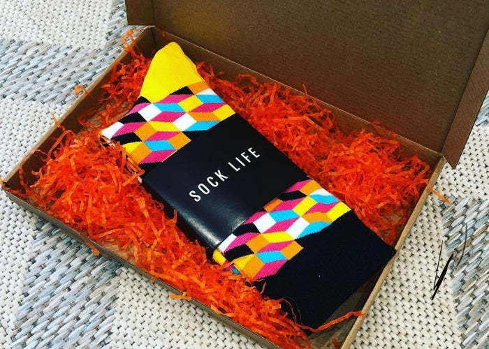 Sock Life #1 - Monthly Subscription Box
